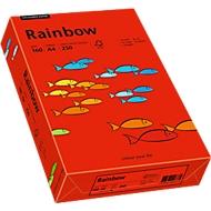 Farbiges Kopierpapier Mondi Rainbow, DIN A4, 160 g/m², intensivrot, 1 Paket = 250 Blatt