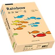 Farbiges Kopierpapier Mondi Rainbow, DIN A4, 80 g/m², lachsrosa, 1 Paket = 500 Blatt