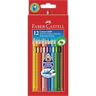 Farbstifte FABER-CASTELL Colour Grip 2001, 12 Stück