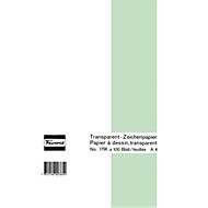 Favorit Transparent-Zeichenpapierblock, A4, 100 Blatt