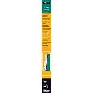Fellowes Abheftstreifen, Format DIN A4, für Plastikbindungen, 100 Stück