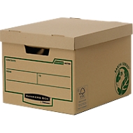 Fellowes Archivbox Bankers Box® Earth, Heavy Duty, mit Klappe, 10 Stück