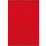 Fellowes Deckblatt Leder, DIN A4, für Bindemaschinen,rot, 250g, 100 Stück