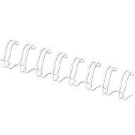 Fellowes Drahtbinderücken, Format 12 mm, 100 Stück, f. 34-Loch-Drahtbindegeräte, weiss, 100