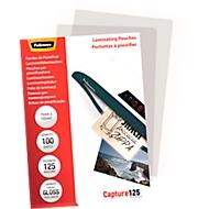 FELLOWES lamineerfolie, creditcard, 75 x 105 mm, 100 stuks