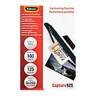 FELLOWES Laminierfolien, Credit-Card, 54 x 86 mm, 100 Stück