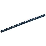Fellowes Plastik-Binderücken, Format 6 mm, 25 Stück, f. Plastikbindemaschinen, blau, 25 Stück