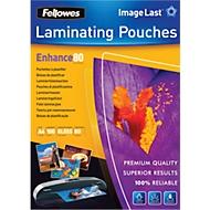 Fellowes® Pochettes de plastification, A4, 80 microns, 100 pièces