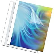 Fellowes Thermobindemappen, Stärke 1,5 bis 6 mm, Bindekapazität 15 Blatt, 100 Stück, weiss, 3 mm, 100 Stück