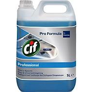 Fenster- und Glasreiniger Cif Professional, 5-Liter-Kanister