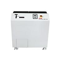 Festplattenvernichter HSM Powerline HDS 150, 40 mm Streifenschnitt, T-1, 40 l, Schnittleistung 210 Stück/h
