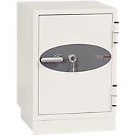 Feuerschutzschrank DS 2002, B 470 x T 470 H 600 mm, Schlüsselschloss