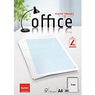 Feuilles de classeur Elco Office A4, quadrillage 5 mm