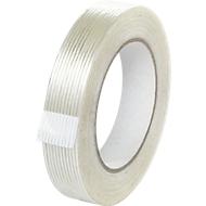 Filament Klebeband, glasfaserverstärkt, besonders reißfest, B 25 mm