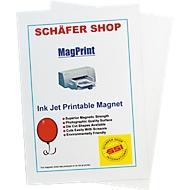 Films magnétiques imprimables, format A4, papier jet d'encre, paquet de 10 pièces
