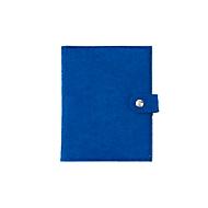 Filz-Notizbuch, Royalblau, Standard