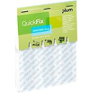 Fingerverbände QuickFix Detectable Long, Nachfüllpack f. Spender, m. Metallfläche, 30 Stück