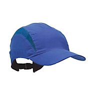 First Base Cap koningsblauw met verkorte klep