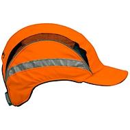 First Base Cap oranje met reflecterende stroken