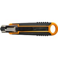 Fiskars Cuttermesser, Klingenhöhe 18 mm, Sicherheitsmesser