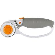 Fiskars Rollenmesser Titanium, Klingendurchmesser 45 mm, mit Komfortgriff