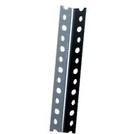 FIX-profiel 1, gepoedercoat, grijs, L 1480 mm