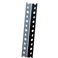 FIX-Profil 1, pulverbeschichtet, grau, L 1480 mm