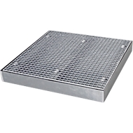 Flachwanne SAFE FW3, 1000 x 1000 x 118 mm