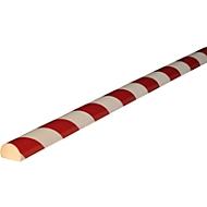 Flächenschutz Typ C, 1-m-Stück, weiß/rot