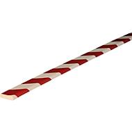 Flächenschutz Typ F, 1-m-Stück, rot/weiß