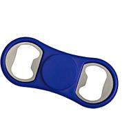 Flaschenöffner Spinner, mit integriertem Fidget Spinner, blau
