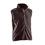Fleece Weste Jobman 7501 PRACTICAL, braun, Polyester, M