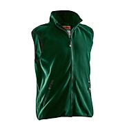 Fleece Weste Jobman 7501 PRACTICAL, forest grün, Polyester, 3XL