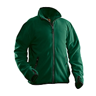 Fleecejack Jobman 5501 PRACTICAL, PSA categorie I, bosgroen, polyester, 3XL