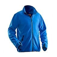 Fleecejas Jobman 5501 PRACTICAL, polyester, PBM-verordening, categorie I, blauw, L