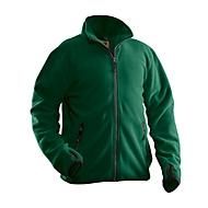 Fleecejas Jobman 5501 PRACTICAL, polyester, PBM-verordening, categorie I, bosgroen, 3XL