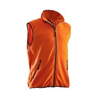 Fleecevest Jobman 7501 PRAKTISCH, oranje, polyester, M