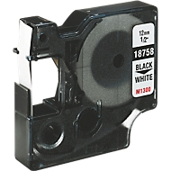 Flexibele nylon tape, wit, 12 x 3500 mm