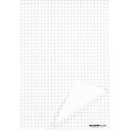 Flipchart-blokken, 70 g/m², geruit, 5 stuks