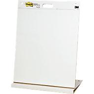 Flipover Post-it®, voor tafel, B 510 x H 690 mm, 20 vellen