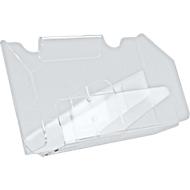 Folderhouder, helder acryl, voor 2 x DIN lang