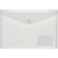 FolderSys documenthoes, A4 liggend, klittenbandsluiting, PP, pocket voor visitekaartje