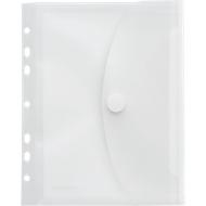 FolderSys Dokumententasche, DIN A5, Klettverschluss, Abheftrand und Dehnfalte