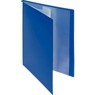 FolderSys PP presentatiemap, voor A4-formaat, 20 zichtmappen, blauw