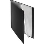 FolderSys PP presentatiemap, voor A4-formaat, 50 zichtmappen, zwart