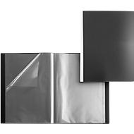 FolderSys PP-Sichtbuch, für DIN A3, 30 Sichthüllen, schwarz