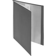 FolderSys PP-Sichtbuch, für DIN A4, 30 Sichthüllen, grau