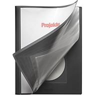 FolderSys Präsentations-Sichtbuch, für DIN A4, 20 Hüllen, schwarz