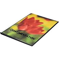 FolderSys Präsentations-Sichtbuch mit Fronttasche, für DIN A3, 30 Hüllen, schwarz