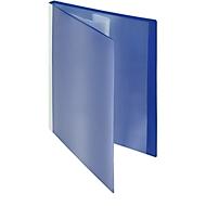 FolderSys Präsentations-Sichtbuch mit Fronttasche, für DIN A4, 30 Hüllen, blau